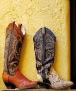 Leather Originals - Cowboy Boots For Sale by Elvira Butler