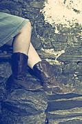 Cowboy Boots Print by Joana Kruse