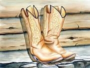 Lyn DeLano - Cowboy Boots