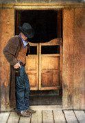 Cowboy Gear Prints - Cowboy by Saloon Doors Print by Jill Battaglia