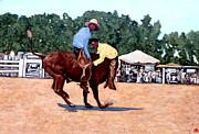Cowboy Conundrum Print by Tom Roderick