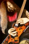 Dimebag Paintings - Cowboy from Hell by Al  Molina