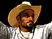 Nephew Prints - Cowboy Intensity Print by Patricia Erwin