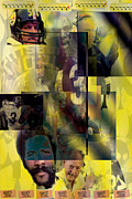 Steelers Digital Art Prints - Cowboy Killers Print by Jimi Bush