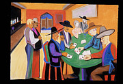 Gambling Originals - Cowboy Poker by Rod  Grier