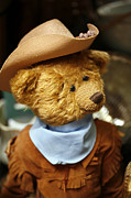 Old Photos - Cowboy Teddy 2 by Marilyn Hunt