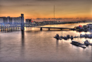 Florida Bridges Art - Cowford Circa 2010 by William Jones
