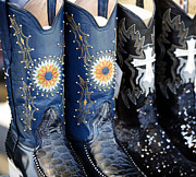 Americana Photos - Cowgirl Boots by Marilyn Hunt