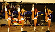 Cheerleaders Photos - Cowgirl kick by Don Prioleau
