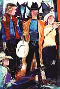 Figurative Originals - Cowgirls by Ron Patterson