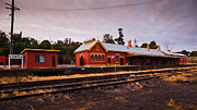 Nsw Framed Prints - Cowra Railway Station Framed Print by John Buxton