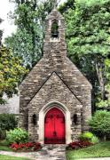 Gatlinburg Tennessee Prints - Cozy Church Print by Scott Childress