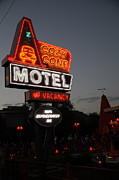 Neon Light Posters - Cozy Cone Motel - Radiator Springs Cars Land - Disney California Adventure - 5D17742 Poster by Wingsdomain Art and Photography