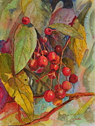 John W Walker Framed Prints - Crab Apples I Framed Print by John W Walker