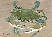 Maryland Coast Posters - Crab Cakes Poster by Keith Wilkie