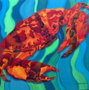 Crabs Paintings - Crab by Mark Jennings