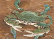 Claw Paintings - Crab Season by Keith Wilkie
