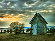 Chincoteague Island Prints - Crab Shack I Print by Steven Ainsworth