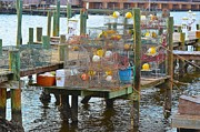 Crab Traps Photos - Crab Traps by Lawton Vaughan