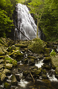 Peaceful Scene Framed Prints - Crabtree Falls Framed Print by Andrew Soundarajan