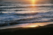 Seascape Greeting Cards Prints - Crack of Dawn Print by Gerlinde Keating - Keating Associates Inc