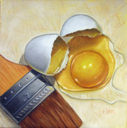 Vic Vicini - Cracked Egg and Brush