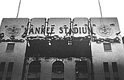Famous Baseball Pictures Art - Cracked Facade-Original Yankee Stadium by Ross Lewis