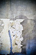 Plaster Digital Art Posters - Cracked Plaster Wall Poster by Iris Lehnhardt