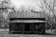 Rural Scenes Prints - Cracker Cabin Print by David Lee Thompson