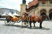 Krakow Originals - Cracovia cab by Boguslaw Florjan
