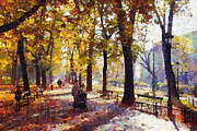 Krakow Originals - Cracovia park  by Boguslaw Florjan