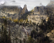 Frank Church River Of No Return Prints - Crag Mountains Print by Leland Howard