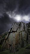 Bad Weather Prints - Crags Print by Meirion Matthias