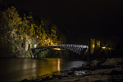 Spate Photos - Craigellachie Bridge by Andy Stuart
