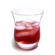 Refresh Prints - Cranberry juice Print by Blink Images