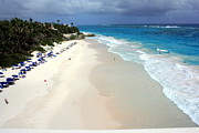 Luxury Travel Framed Prints - Crane Beach Barbados Framed Print by Sophie Vigneault