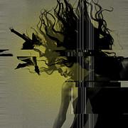 Crash Print by Irina  March