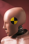 Safety Test Posters - Crash test dummy Poster by Garry Gay