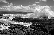 Crashing Photos - Crashing wave Roundstone Ireland by Pierre Leclerc