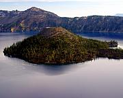 Marty Koch Art - Crater Lake 1 by Marty Koch