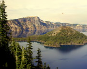 Crater Lake 6 Print by Marty Koch