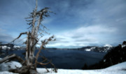Crater Lake View Prints - Crater Lake Print by Bonnie Bruno