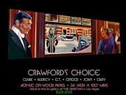 Joan Crawford Paintings - Crawfords Choice by George Torjussen