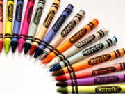 Crayons Photos - Crayola 64 by Valerie Morrison