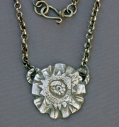 Silver Jewelry - Crazy Egg Basket Pendant by Mirinda Kossoff