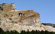 Monument Prints - Crazy Horse In Progress Print by Robert Frederick