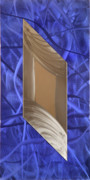 Mirror Sculpture Framed Prints - Crazy Framed Print by Rick Roth