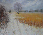 Gray Pastels - Cream of Wheat by Julie Mayser