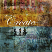 Creativity Metal Prints - Create Metal Print by Evie Cook