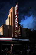 Theaters Prints - Creature Feature At The Lark - Larkspur California - 5D18484 Print by Wingsdomain Art and Photography